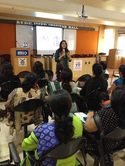 Harmony Consultants | Pallavi Patgaonka | A seminar at IMED - Bharati Vidyapeeth