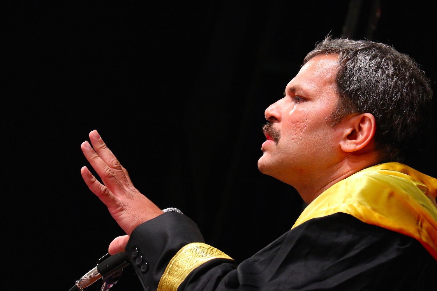Harmony Consultants | Yogesh Patgaonkar | Guest of honour for NMIMS convocation function- an honour bestowed by Alma Matter on the Alumnus - Making a point