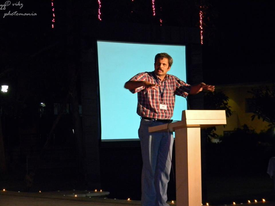 Harmony Consultants | Yogesh Patgaonkar speaking at an event