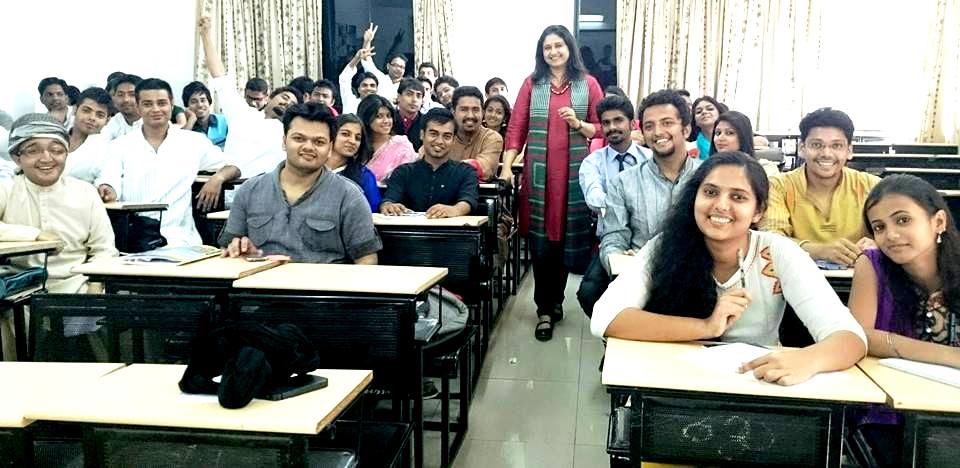 Harmony Consultants | With students of Indira Management College, Pune